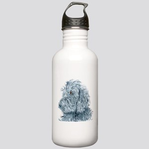 Black Labradoodle #2 Stainless Water Bottle 1.0L