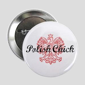 "Polish Chick 2.25"" Button"