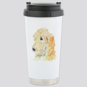 Cream Labradoodle 1 Stainless Steel Travel Mug