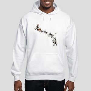 Eskimo Dogsled Hooded Sweatshirt