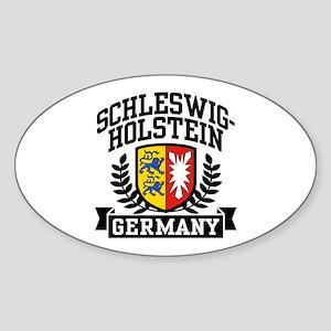 Schleswig Holstein Germany Sticker (Oval)
