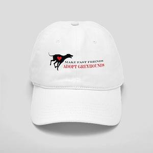Adopt a Greyhound Cap