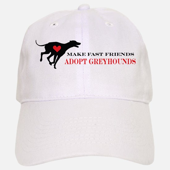 Adopt a Greyhound Baseball Baseball Cap