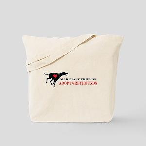 Adopt a Greyhound Tote Bag