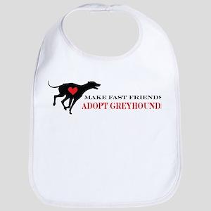 Adopt a Greyhound Bib
