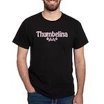 Thumbelina Black T-Shirt
