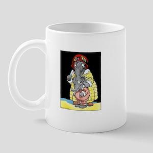 Baby Elephant & Mom Mug