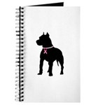 Pitbull Terrier Breast Cancer Support Journal