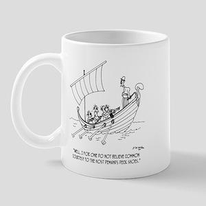 Courtesy Among Galley Slaves Mug