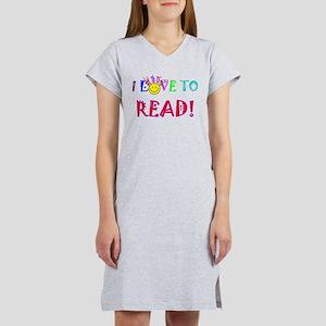 Love to Read Women's Nightshirt