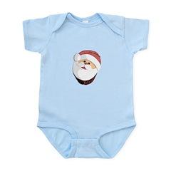 Santa cupcake Infant Bodysuit
