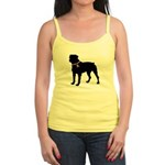 Rottweiler Breast Cancer Support Jr. Spaghetti Tan