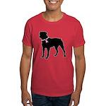 Rottweiler Breast Cancer Support Dark T-Shirt