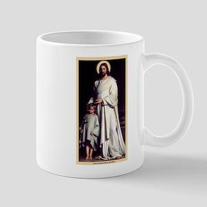 Jesus and the Child Mug