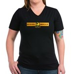 Spring Break 2012 Women's V-Neck Dark T-Shirt