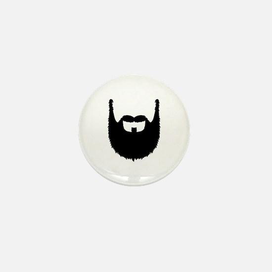Full beard Mini Button (10 pack)