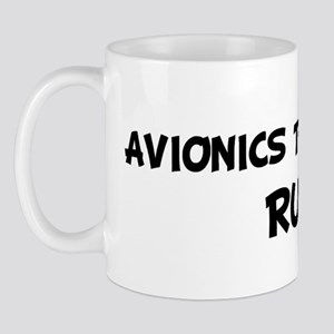 AVIONICS TECHNICIANS Rule! Mug