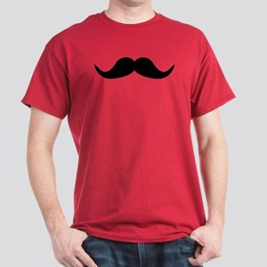 Beard Mustache Dark T-Shirt
