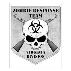 Zombie Response Team: Virginia Division Posters