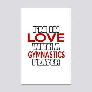 I Am In Love With Gymnastics Pla Mini Poster Print
