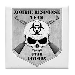 Zombie Response Team: Utah Division Tile Coaster