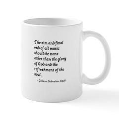 Johann Sebastian Bach Mug