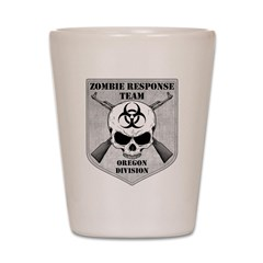 Zombie Response Team: Oregon Division Shot Glass
