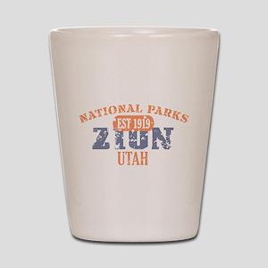 Zion National Park Utah Shot Glass