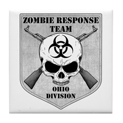 Zombie Response Team: Ohio Division Tile Coaster