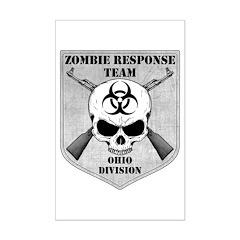 Zombie Response Team: Ohio Division Posters