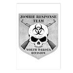 Zombie Response Team: North Dakota Division Postca