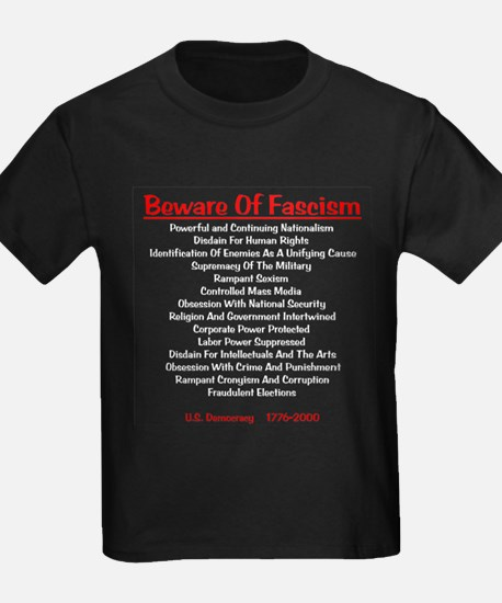 Beware of Fascism Gifts T