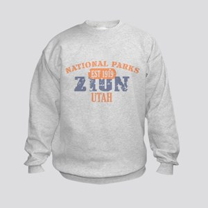 Zion National Park Utah Kids Sweatshirt