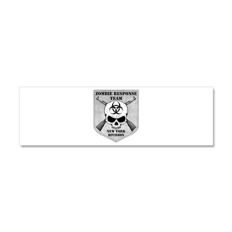 Zombie Response Team: New York Division Car Magnet