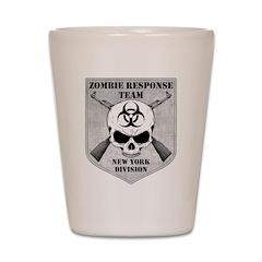 Zombie Response Team: New York Division Shot Glass