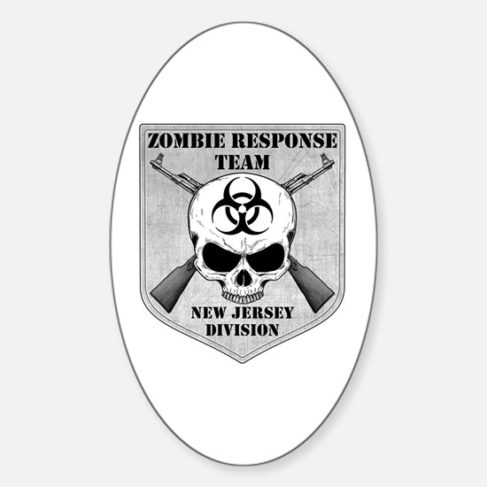 Zombie Response Team: New Jersey Division Decal