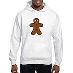 Gingerbread Man Hooded Sweatshirt