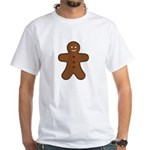 Gingerbread Man White T-Shirt
