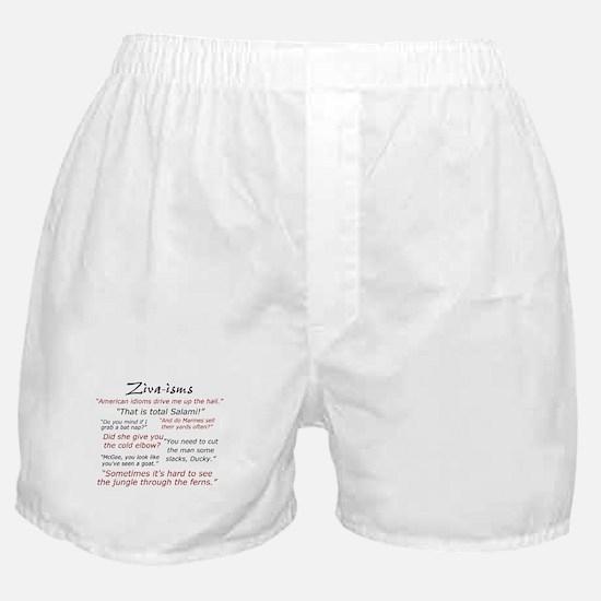 Ziva-isms Boxer Shorts