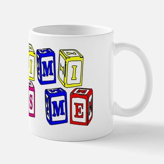 My Mimi Loves Me! (3-D Blocks) Mug