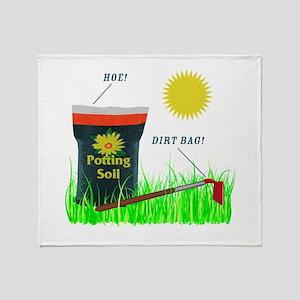 Dirt Bag Throw Blanket