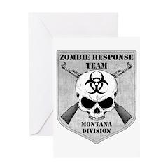Zombie Response Team: Montana Division Greeting Ca