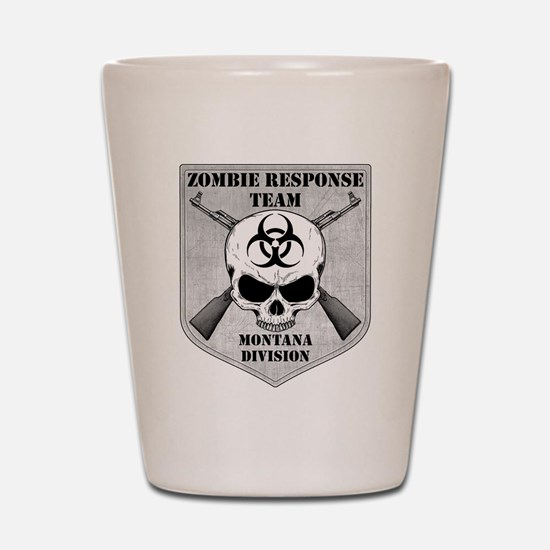 Zombie Response Team: Montana Division Shot Glass
