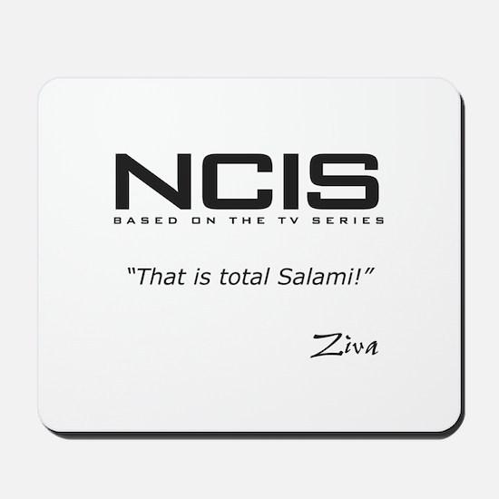 NCIS Ziva David Salami Quote Mousepad