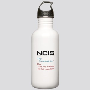NCIS Ziva Garage Sale Quote Stainless Water Bottle