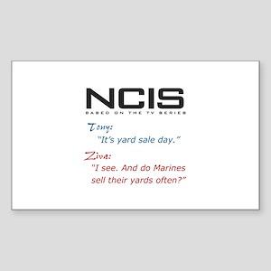 NCIS Ziva Garage Sale Quote Sticker (Rectangle)
