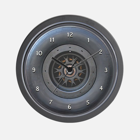 Race Wheel Clock