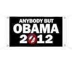 Anybody but Obama Banner