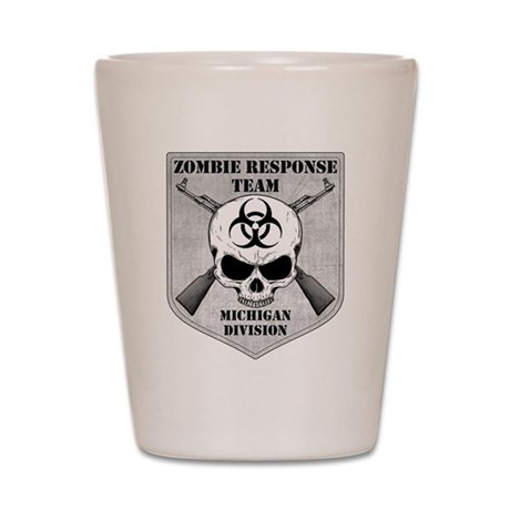 Zombie Response Team: Michigan Division Shot Glass