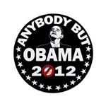 """Anybody but Obama 3.5"""" Button (100 pack)"""